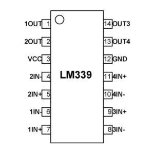 LM339 Pinout